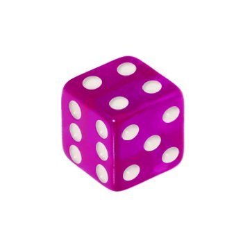 5mm Positively Purple Dice Replacement Ball