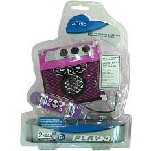 Play On Amplifier Radio & Speaker - Black