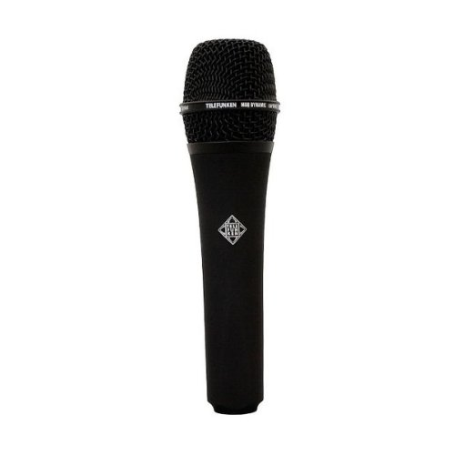 Brand New Telefunken | M80, Handheld Dynamic Cardioid Microphone, Solid Color Finish, Frequency Range : 30Hz / 18Khz, Impedance : 200 Ohms (Black)
