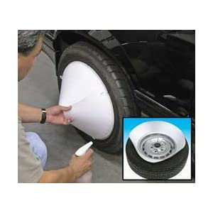 Wheel Painting Shield & Tire Protector Spray Mask Kit