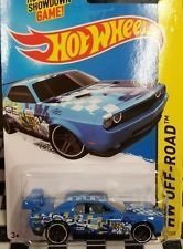 dodge-challenger-drift-car-107-blue-2015-hot-wheels-kmart-only-exclusive-color-by-hot-wheels