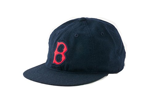 mlb-authentic-boston-red-sox-statesman-washed-flannel-adjustable-cap