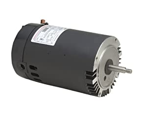 A.O. Smith B228SE 1 HP, 3450 RPM, 1 Speed, 230/115 Volts, 6.0/12.0 Amps, 1 Service Factor, 56J Frame, PSC, ODP Enclosure, C-Face Pool Motor from Century Electric/AO Smith Motors Co