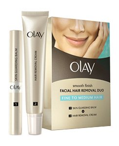 Olay Smooth Finish Facial Hair Removal Duo (Fine to Medium)1 Kit