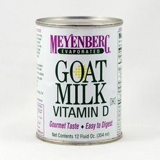 Meyenberg Evaporated Goat Milk 12X 12Oz
