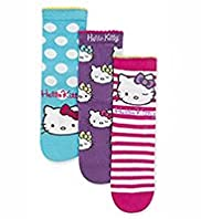 3 Pairs of Hello Kitty Assorted Socks