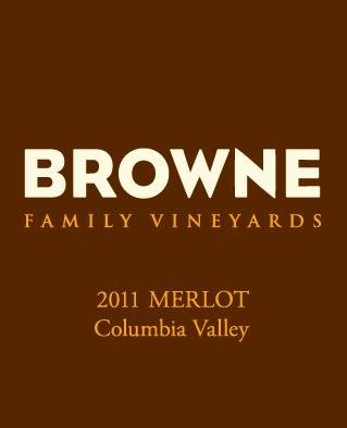 2011 Browne Family Merlot, Columbia Valley 750Ml