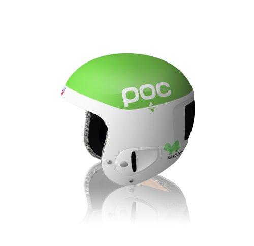 POC Skihelm Skull Comp Bode, green/white, M-L/55-58