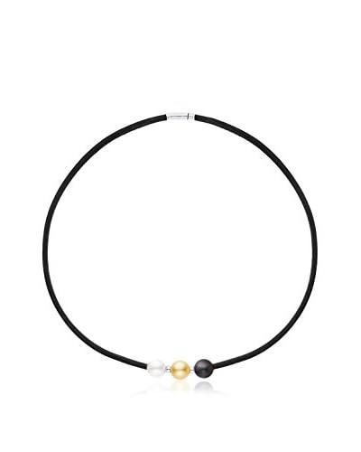 Manufacture Royale des Perles du Pacifique Collana  argento 925 rodiato