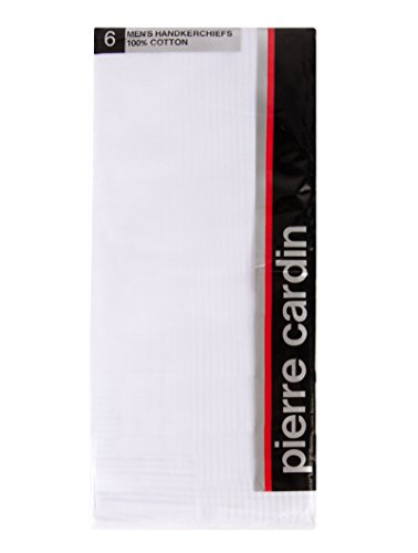 pierre-cardin-handkerchief-cotton-18-x-18-with-satin-cord-and-hand-rolled-hems-6-pack-white