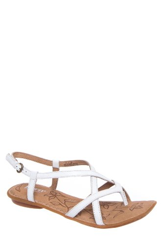 Born Mai Slingback Ankle Strap Flat Sandal