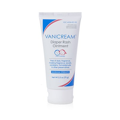 Vanicream Diaper Rash Ointment - 2.5 oz