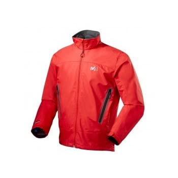 Veste MILLET Wind free shield Veste Softshell homme rouge