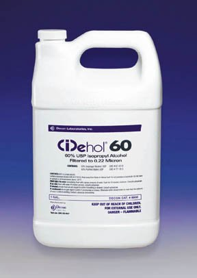 Decon CiDehol 60 Isopropyl Alcohol, 1 gal. (3.8L): Science