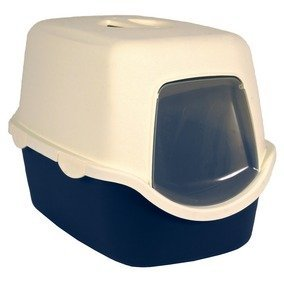 Vico Hooded Cat kitten litter tray with lid various colours