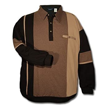 Ld Sport Big And Tall Long Sleeve Fancy Banded