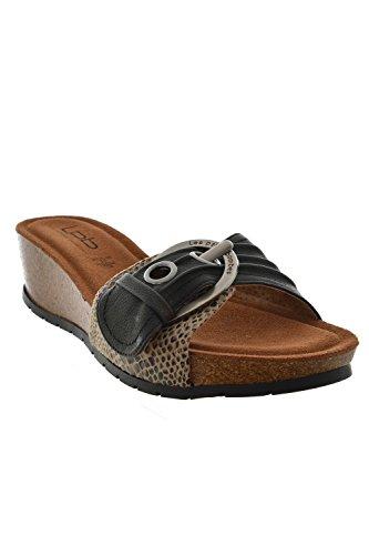 Sandali, nu les p'tites bombes piedi ninfea, colore: nero, Nero (nero), 41