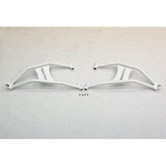 Max Clearance Front Lower Control Arms for Polaris RZR 900 XP - White