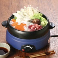 ちょこっと電気鍋 ミニ電気グリル鍋 【1台5役!鍋・蒸す・焼く・茹でる・炒める】
