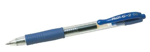 Pilot G-2, gel retract, blue - Bolígrafo (gel retract, blue, Azul)