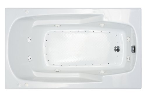 Sea Spa Tubs S4272Edr Tubs Eros 42 By 72 By 23-Inch Rectangular Air And Whirlpool Jetted Bathtub, White