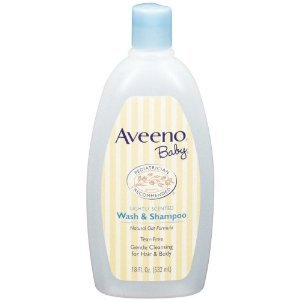 Aveeno Baby Wash and Shampoo - 18 Oz (4 Pack)