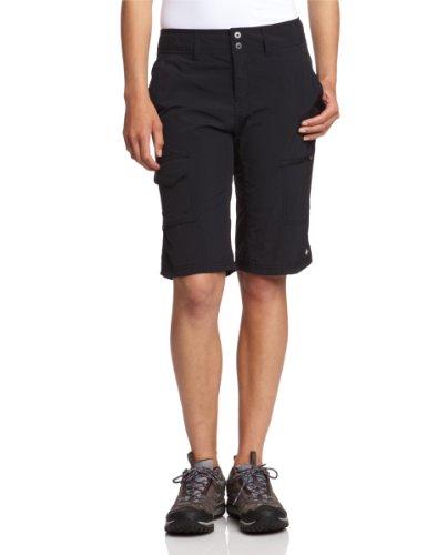 Columbia-Silver-Ridge-Womens-Short-Cargo-M-schwarz-schwarz