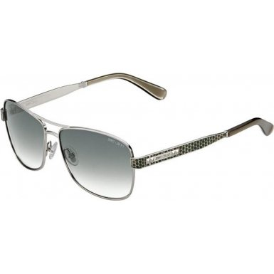 Jimmy Choo Jimmy Choo Cris Sunglasses Palladium / Green Gradient