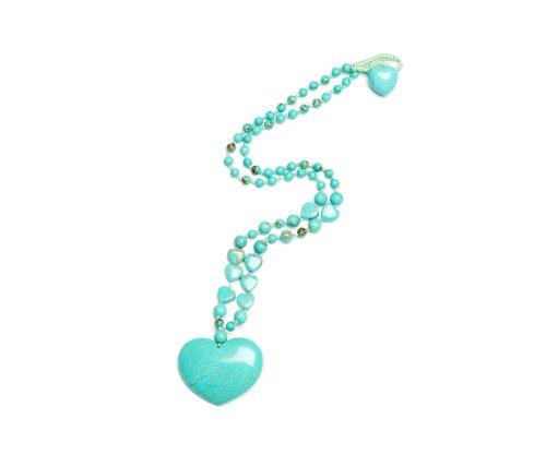 Lola Rose 'Macie' Natural Blue Magnesite Necklace