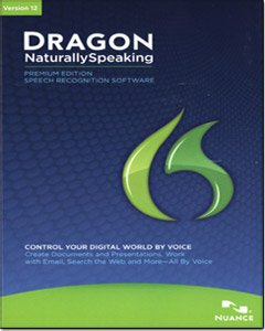 Dragon NaturallySpeaking Premium 12, English