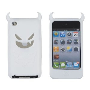 White Devil Case for Apple iPod Touch 4G (4th