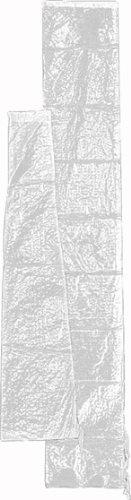 Siena Garden 731790 Copertura Per Ombrellone In Poliestere, Per Ombrelloni Fino A Ø 400 Cm, Colore: Trasparente