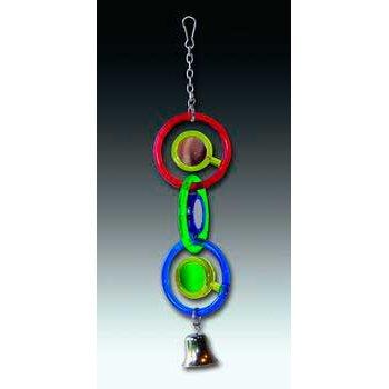 Cheap 2PK Insight Bird Toy Triple Mirror (Catalog Category: Bird / Toys-plastic & Acrylic) (BJW31049)