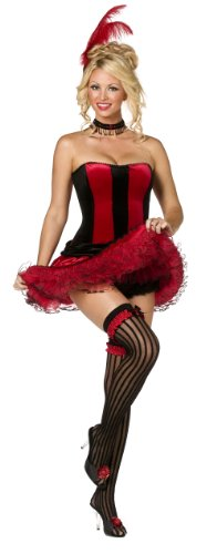 Can Can Girl Sweetie Red Costume 34368