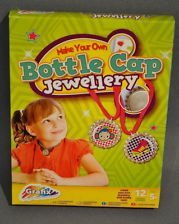 Grafix Go Girl! Bottle Cap Jewelry Making Kit