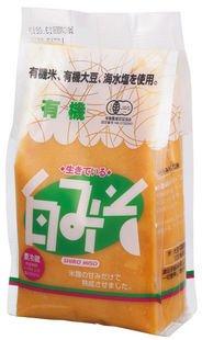 オーサワジャパン 有機白みそ 冷蔵
