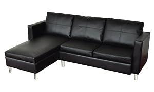 wohndesign ecksofa lounge sofa ledersofa relax liege wohnlandschaft schwarz kleine sofa angebote auf waterige