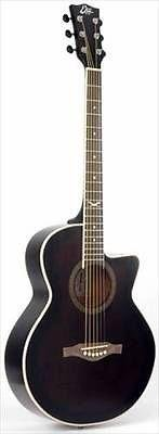 Eko Nxt 018 Cw Eq Dark Violin Gloss Electro Acoustic Guitar