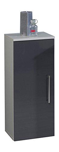 Kesper-Badmbel-3591900833801002-Unterschrank-Siena-1-Tr-87-x-30-x-313-cm-alu-anthrazit