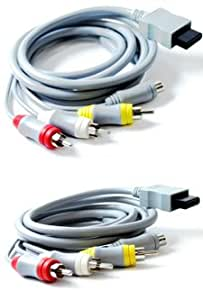 Nintendo Wii AV and S-Video Component Cable