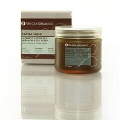 Pangea Organics Japanese Matcha Tea with Acai & Goji Berry Facial Mask - 2 fl. oz.