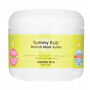 Mama Mio Tummy Rub Stretch Mark Butter, 4oz, say NO to stretch marks!