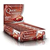 Quest Nutrition Protein Bars, Strawberry Cheesecake, 12-Bars (2-Pack)