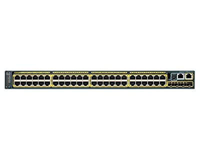 Cisco Catalyst WS-C2960S-48FPD-L Stackable Ethernet Switch - 48 Ports - Manageable - 48 x POE - Stack Port - 3 x Expansion Slots - 10/100/1000Base-T - PoE Ports