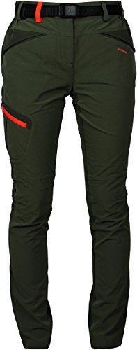 Angel-Cola-Womens-Outdoor-Hiking-Softshell-Zippered-Pants-PW6114