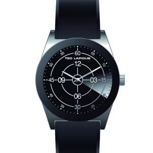 Ted Lapidus - 5110805 - Montre Homme - Quartz Analogique - Cadran - Bracelet Silicone Noir