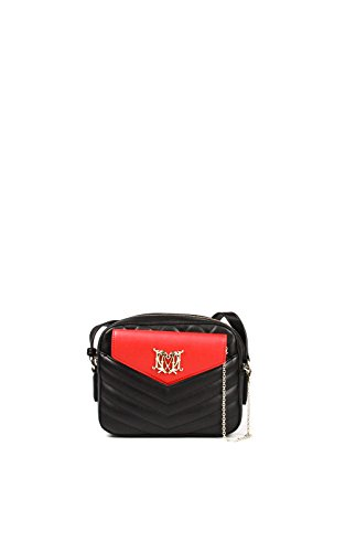 Love Moschino JC4030 borsa piccola pochette clutch rosso nero tracolla eco pelle