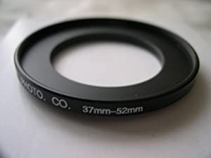 HeavyStar Dedicated Metal Stepup Ring 37mm-52mm