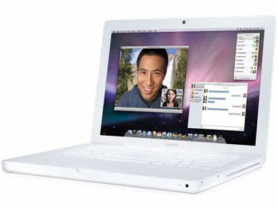 Apple MacBook 2.13GHz Core 2Duo/13.3/2G/160G/8xSuperDrive/Gigabit/802.11n/BT/Mini DVI MC240J/A