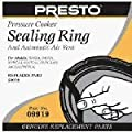 Presto Pressure Cooker Sealing Ring/Automatic Air Vent Pack (3 & 4 Quart) by Presto
